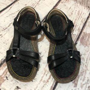 Teva Cork Sandals Ventura Sport Black